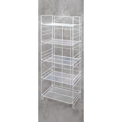 5-TIER ADJUSTABLE DISPLAY RACK