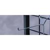 "CHROME 4"" LONG Y-BACK GRID HOOK Item No.:  21-371 Picture"