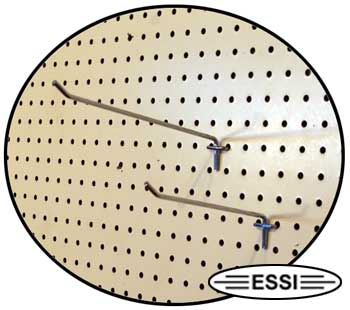 Pegboard Display Hooks